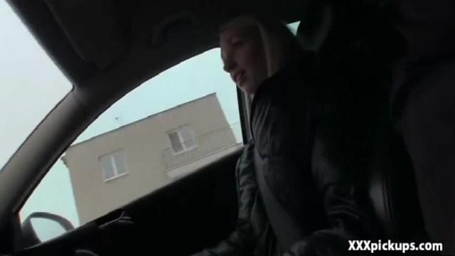 Pickup girl fucked for cash in the street 23